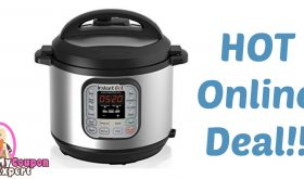 Instant Pot Duo 7-in-1 Programmable Pressure Cooker Only $52.99 – Reg. $130.00