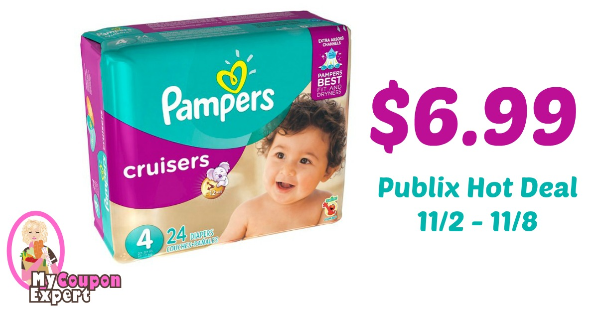 Pampers Diapers Only $6.99 Each After Sale And Coupons