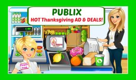 Publix HOT DEALS November 16th – 22nd!  Thanksgiving Ad!