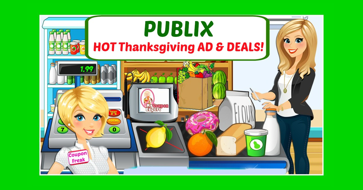Publix HOT DEALS November 16th – 22nd!  Thanksgiving Ad!