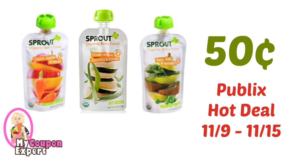 Sprout Baby Food Coupons
