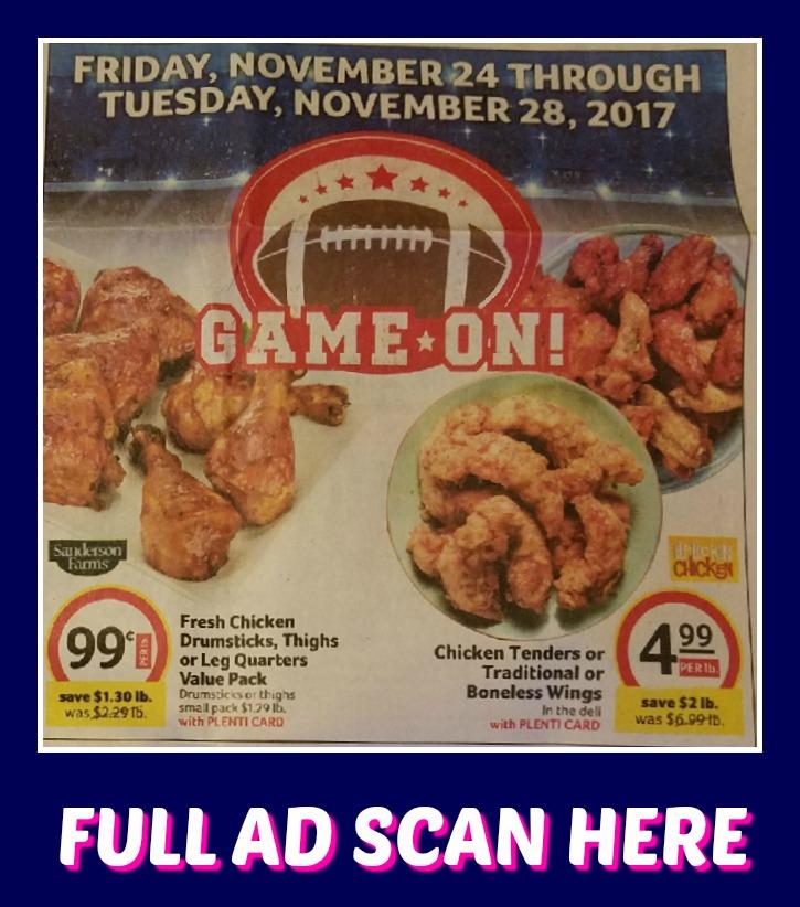 Winn Dixie AFTER Thanksgiving AD SCAN 11/24 – 11/28!!