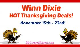 Winn Dixie HOT DEALS November 15th – 23rd!!