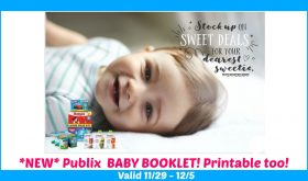 NEW Baby Booklet at Publix!!  WOW!!  Printable too!!!