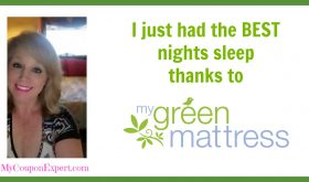 I just had the BEST nights sleep thanks to My Green Mattress!