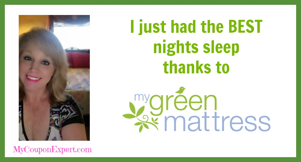I just had the BEST nights sleep thanks to My Green Mattress! ·