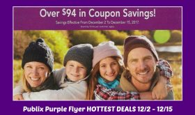 Publix Purple Flyer Matchups December 2nd thru 15th!