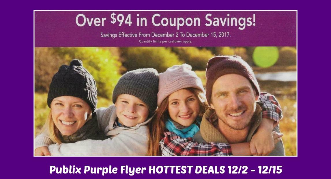 Publix Purple Flyer Matchups December 2nd thru 15th!
