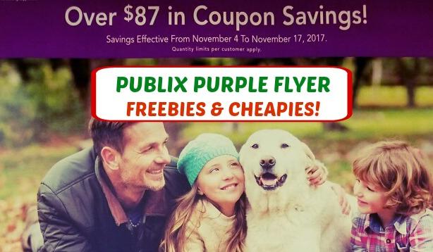 Publix Purple Advantage Flyer November 4th – 17th!