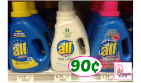 Publix Hot Deal!  All Detergent just 90¢ each!!