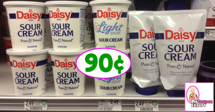 Daisy Sour Cream just 90¢ each at Publix starting 12/14!