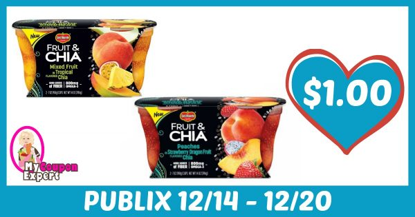 photo about Del Monte Printable Coupons titled WHOOP!! Del Monte Solutions Just $1.00 at Publix as soon as sale