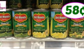 Publix Hot Deal Alert! Del Monte Veggies Only 58¢ each after sale and coupons
