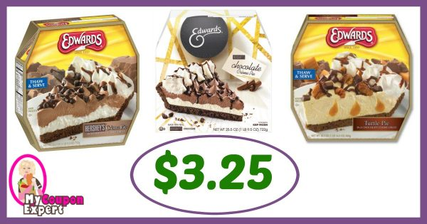 image relating to Edwards Pies Printable Coupons identify Winn Dixie Scorching Package Notify! Edwards Pies Simply just $3.25 just about every