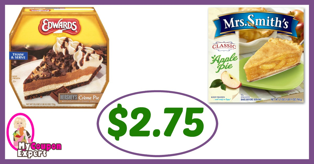 It is a graphic of Crush Edwards Pies Printable Coupons