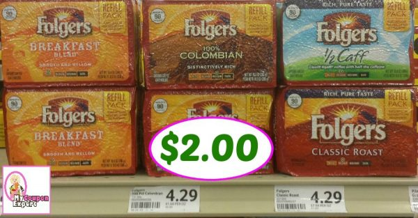 picture regarding Folgers Coffee Coupons Printable identified as Of course!! Folgers Espresso Simply just $2.00 right after sale and discount coupons ·