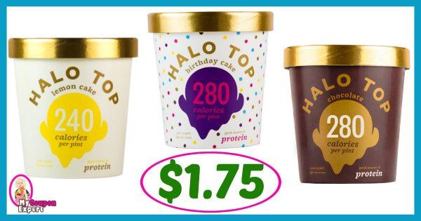 Halo ice cream coupons
