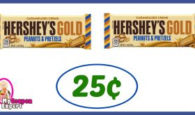 CVS Hot Deal Alert!! Hershey's Gold Only 25¢ each after sale and coupons