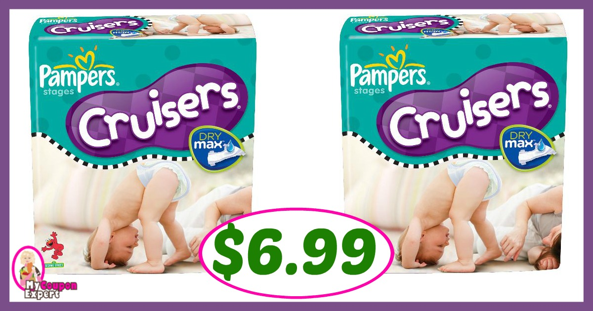 Publix Hot Deal Alert! Pampers Diapers Only $6.99 Each