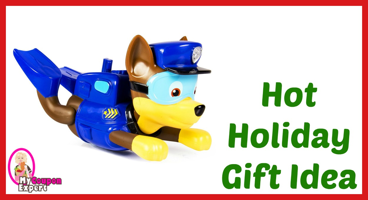Hot Holiday Gift Idea! Paw Patrol – Bath Paddlin Pup – Chase Only $12.71 – 40% Savings