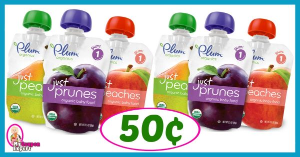 photograph relating to Plum Organics Printable Coupon identify Winn Dixie Scorching Bundle Inform! Plum Organics Child Food stuff Just 50