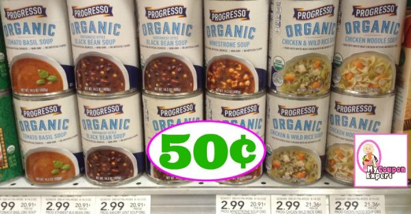 photo regarding Printable Progresso Soup Coupons known as Publix Sizzling Package deal Notify! Progresso Soup Just 50¢ each and every just after