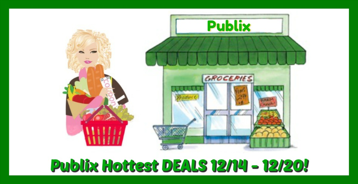 Publix HOT DEALS December 14th – 20th!  HOLIDAY AD!