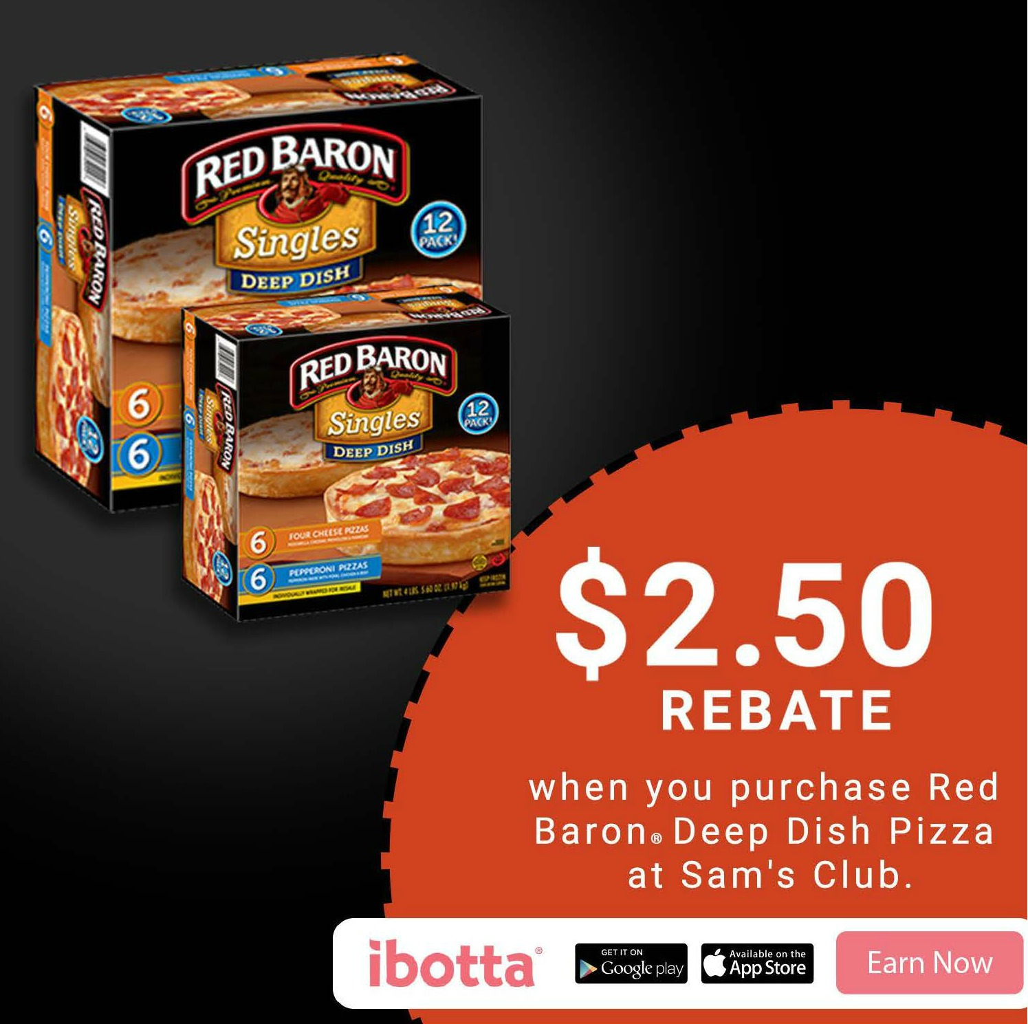 Red Baron Pizza at Sam's Club offer, check it out!