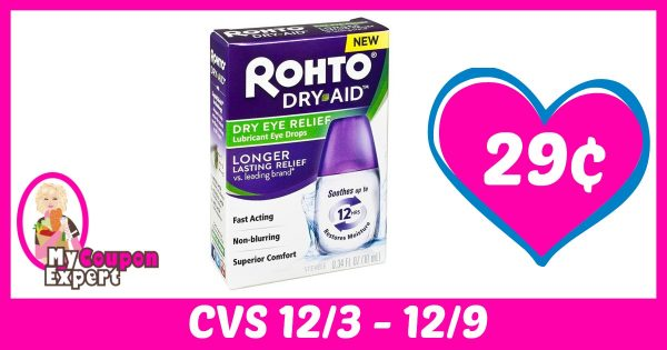 rohto dry aid lubricant eye drops only 29 u00a2 each after sale and coupons