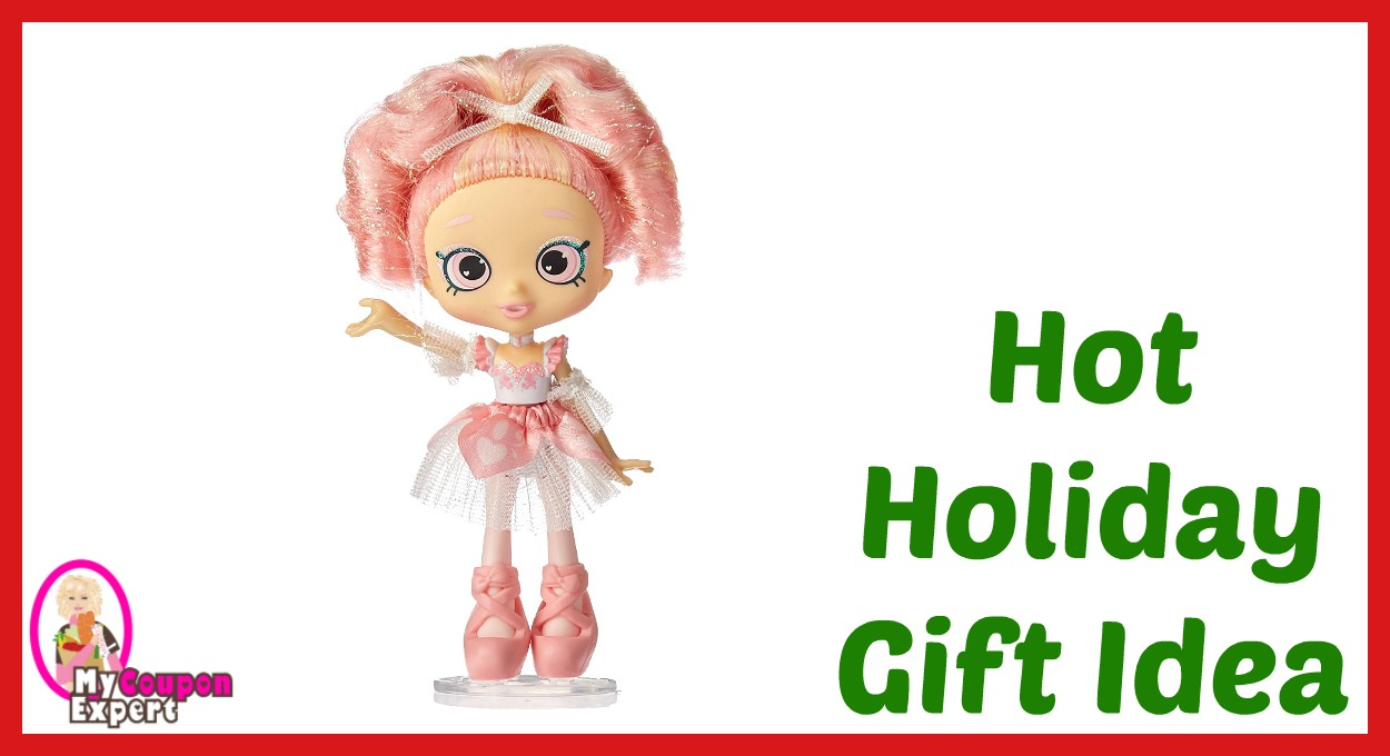 Hot Holiday Gift Idea! Shopkins Shoppies Amazon Exclusive Doll – Pirouetta Only $18.74 – 33% Savings!!