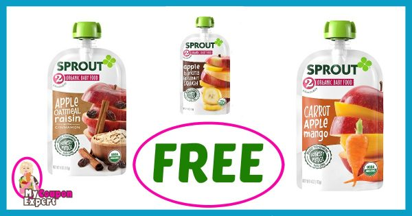 Publix Hot Deal Alert! FREE Sprout Organic Baby Food Pouches