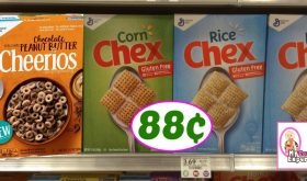 Chex and Chocolate Peanut Butter Cheerios just 88¢ at Publix!