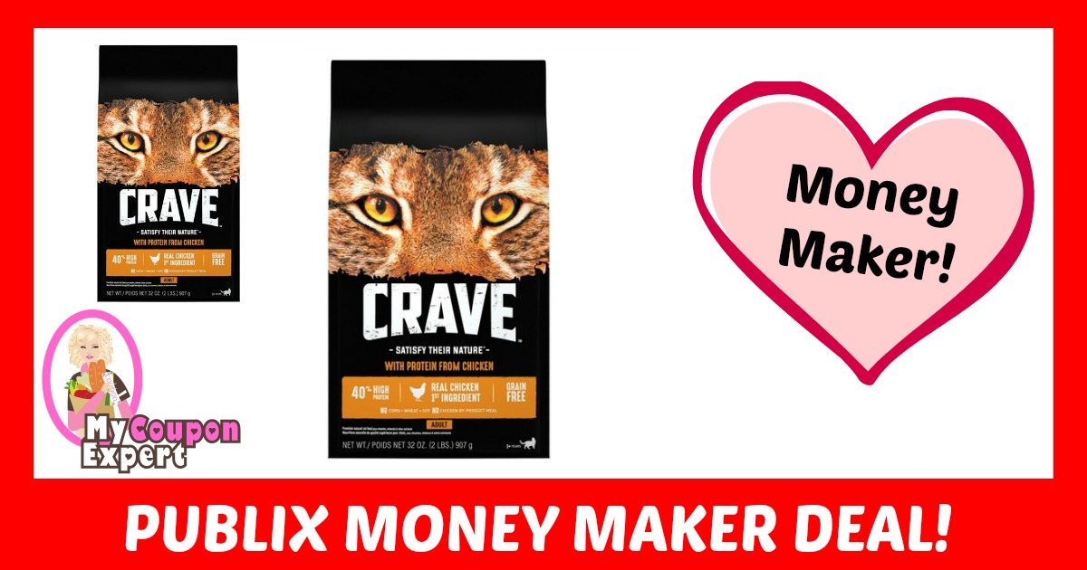 Crave Cat Food Coupon