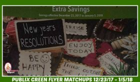 Publix GREEN FLYER Deals December 23rd – January 5th!