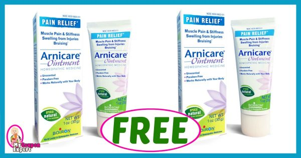 cvs hot deal alert   free arnicare products after sale and