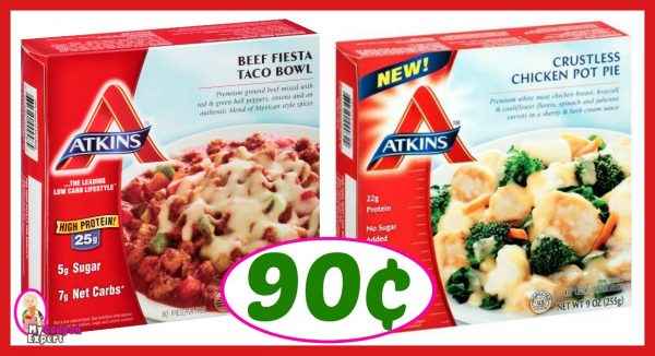 photograph relating to Atkins Coupon Printable known as Winn Dixie Warm Bundle Warn! Atkins Frozen Entrees Merely 90