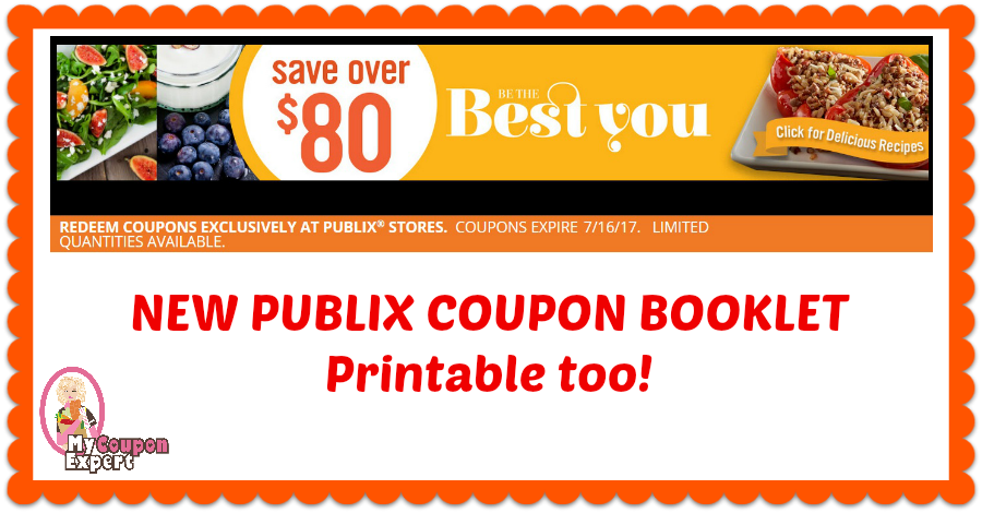 "Publix Coupon Booklet! ""Be The Best You"" and its Printable!!"