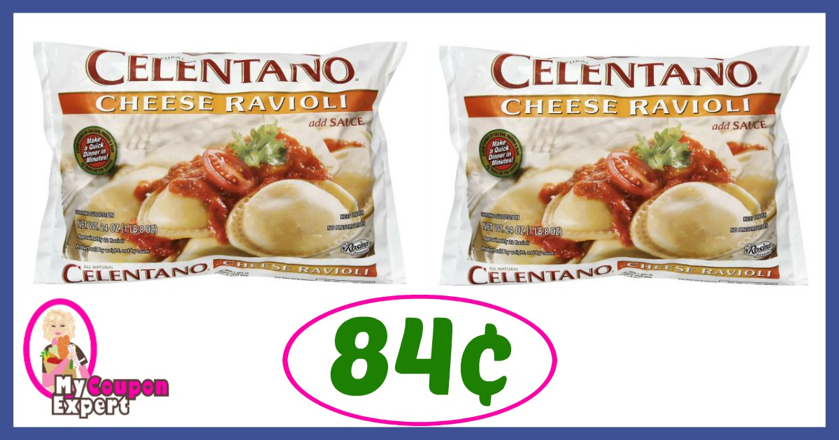 Celentano Pasta just 84¢ each at Publix right now!