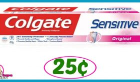 CVS Hot Deal Alert!! Colgate Sensitive Toothpaste Only 25¢ after sale and coupons