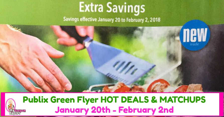 Publix GREEN Flyer Deals January 20th – February 2nd!