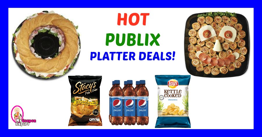 HUGE DEAL on Publix Platters for the BIG GAME! LOOK!