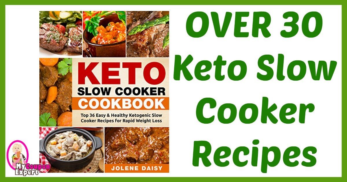 AWESOME Recipe Book! Keto Slow Cooker Cookbook (Kindle Edition)