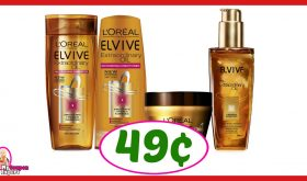 CVS Hot Deal Alert!! L'Oreal Elvive Hair Care Only 49¢ after sale and coupons