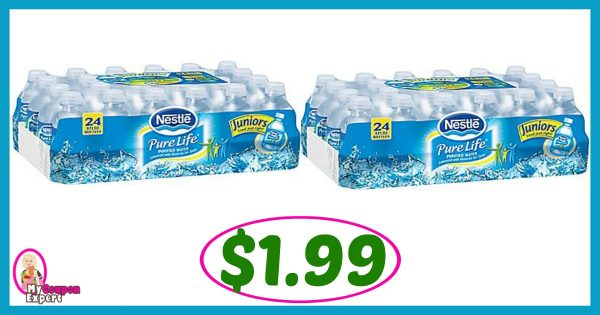 58f1c454c5 Publix Hot Deal Alert! Nestle Pure Life Water Only $1.99 each after ...
