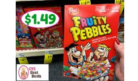 Pebbles Cereal Only $1.49 after sale and coupons at CVS!