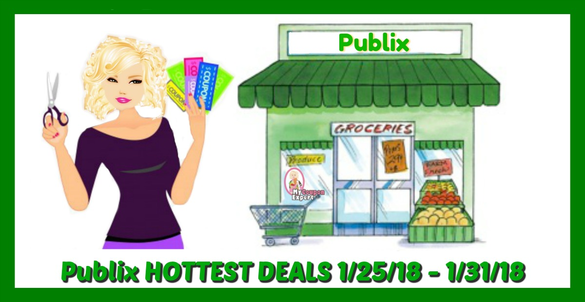 Publix HOTTEST DEALS January 25th – 31st!  Check it out!
