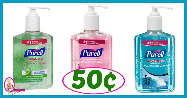 image regarding Purell Printable Coupons called Publix Incredibly hot Offer Notify! Purell Highly developed Hand Sanitizer Basically