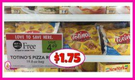 Totinos Pizza Rolls $1.75 at Publix!