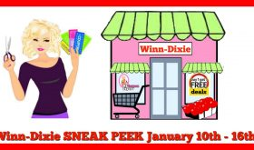 Winn Dixie Coupon Matchups January 10th – 16th!!