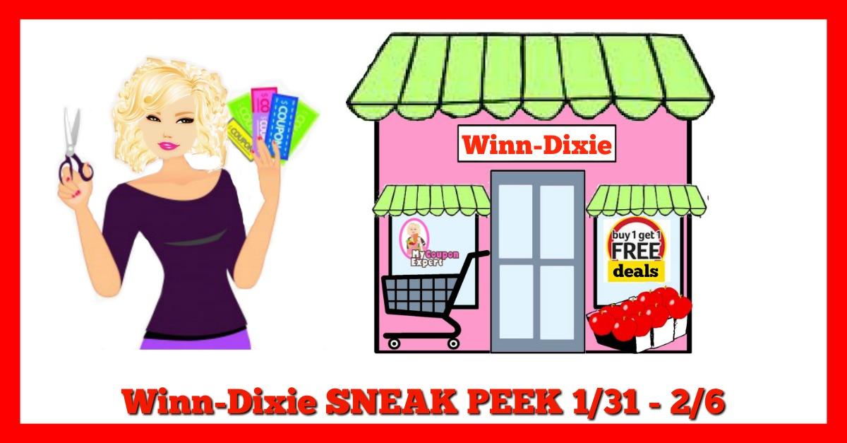 Winn Dixie Matchups January 31st – February 6th!!!